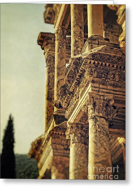 Ephesus Greeting Card by HD Connelly