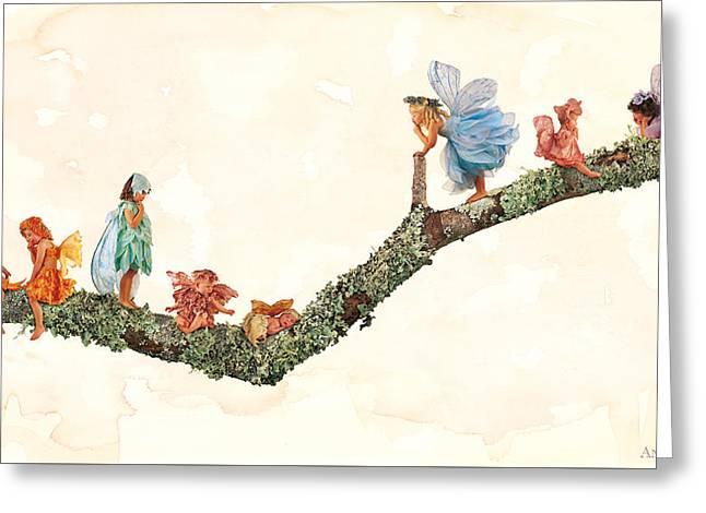 Fairies Greeting Card by Anne Geddes