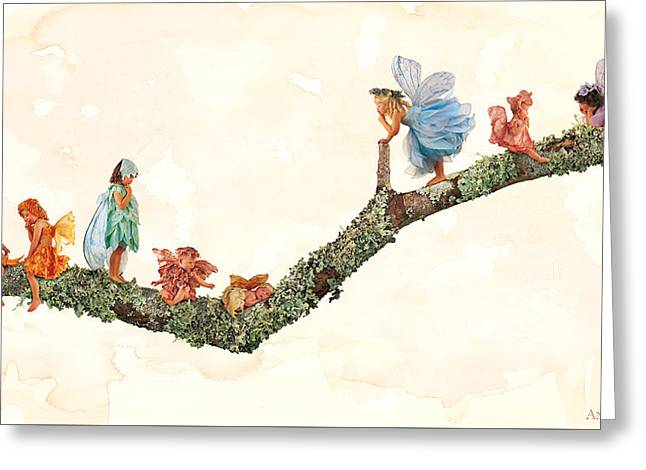 Fairies Photographs Greeting Cards - Fairies Greeting Card by Anne Geddes