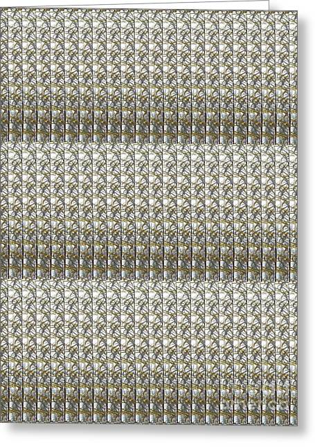 Christmas Greeting Greeting Cards - FineArt from Wire Mesh Jewellery unique patterns n textures by NavinJoshi at FineArtAmerica.com USA  Greeting Card by Navin Joshi