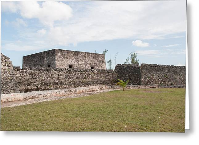 The Hills Greeting Cards - Fort of San Felipe in Bacalar Greeting Card by Carol Ailles
