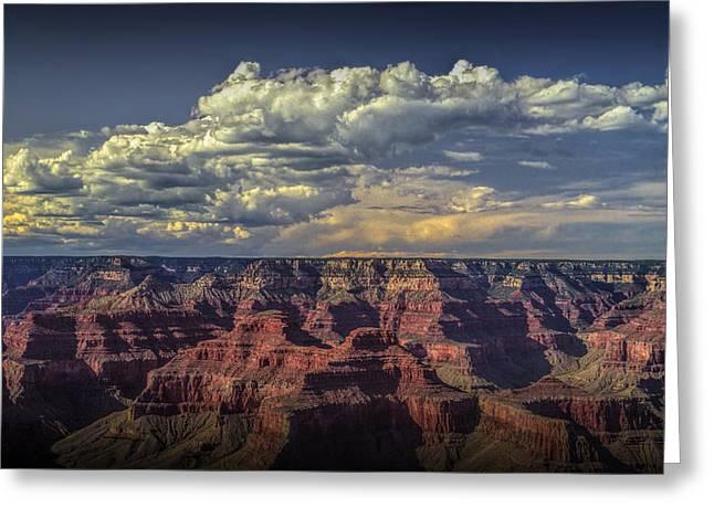 Randy Greeting Cards - Grand Canyon at Sunset Greeting Card by Randall Nyhof