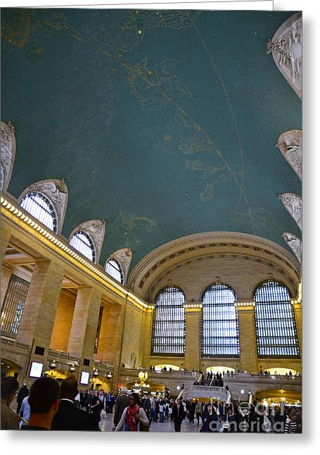 Grand Central Terminal - Grand Central Station Greeting Card by David Oppenheimer