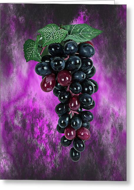 Cluster Of Grapes Greeting Cards - Grapes Greeting Card by Douglas Miller