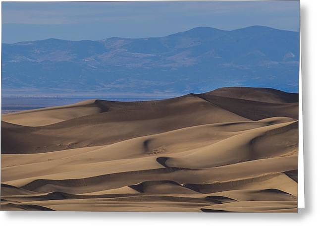 Great Sand Dunes Greeting Cards - Great Sand Dunes Greeting Card by Noah Bryant