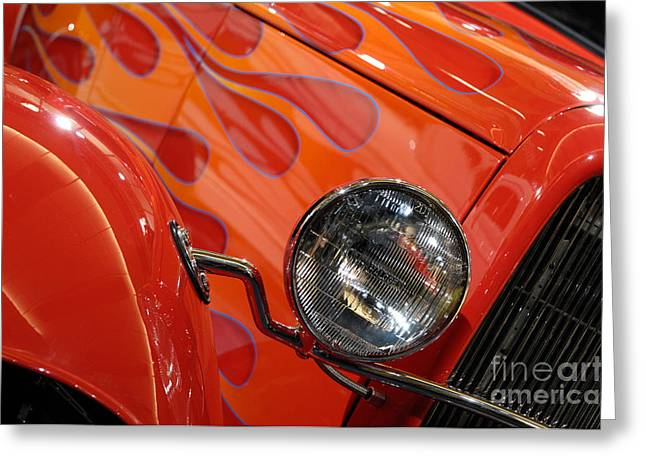 Hot Rod Ford Coupe 1932 Greeting Card by Oleksiy Maksymenko