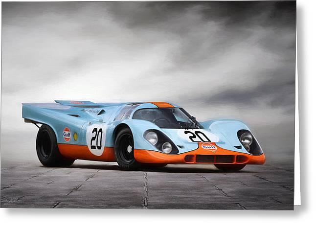 I Am Legend Porsche 917 Greeting Card by Peter Chilelli