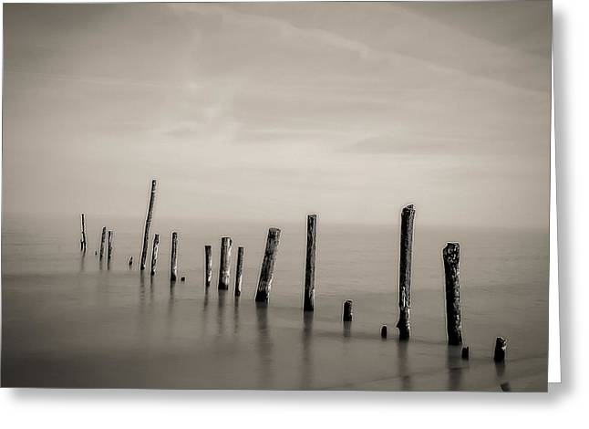 Best Ocean Photography Greeting Cards - Ipperwash Beach #1 Greeting Card by Jerry Golab