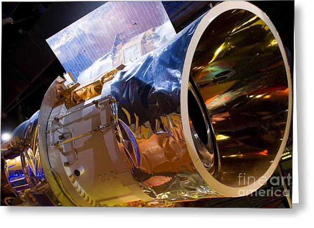 Aperture Greeting Cards - Iras Infrared Astronomy Satellite Greeting Card by Mark Williamson