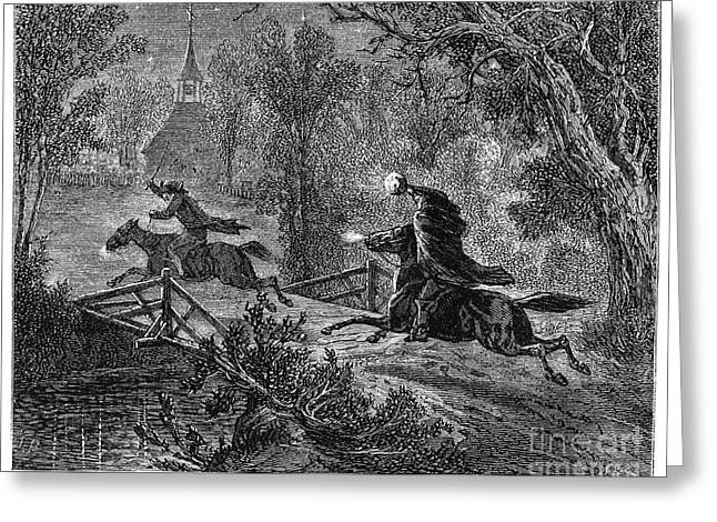 1819 Greeting Cards - Irving: Sleepy Hollow Greeting Card by Granger