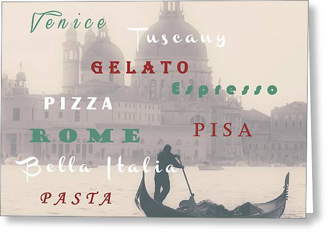 Pisa Greeting Cards - Italy Greeting Card by Joana Kruse