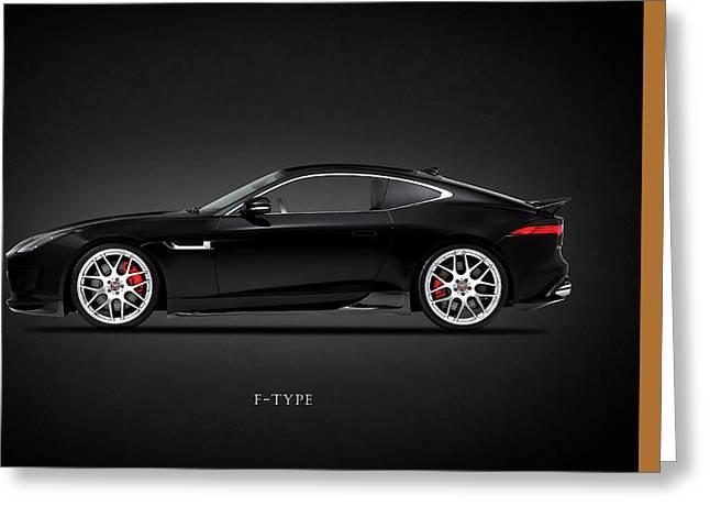 Jaguars Greeting Cards - Jaguar F Type Greeting Card by Mark Rogan