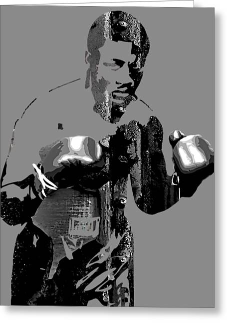 Joe Frazier Collection Greeting Card by Marvin Blaine