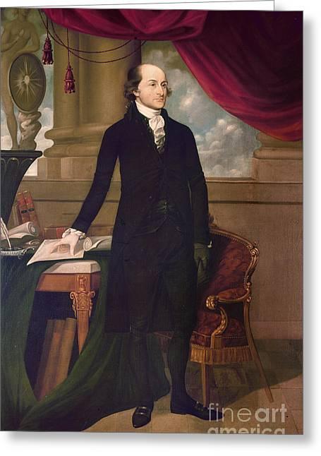 1782 Greeting Cards - John Jay (1745-1829) Greeting Card by Granger