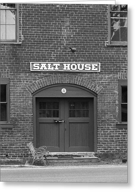 Tennessee Landmark Greeting Cards - Jonesborough Tennessee - Salt House Greeting Card by Frank Romeo
