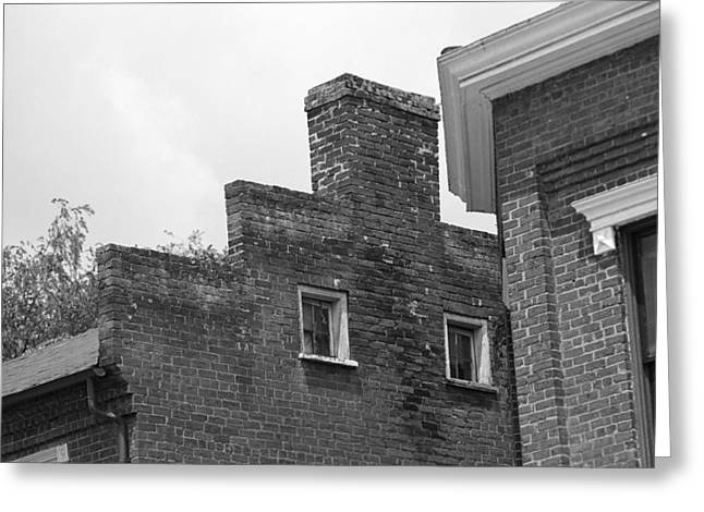 Tennessee Landmark Greeting Cards - Jonesborough Tennessee - Small Town Architecture Greeting Card by Frank Romeo