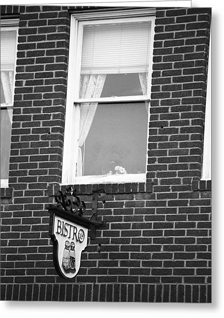 Tennessee Landmark Greeting Cards - Jonesborough Tennessee - Window Over the Shop Greeting Card by Frank Romeo