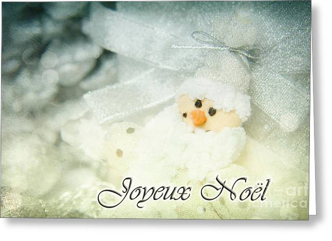 Reflex Mixed Media Greeting Cards - Joyeux Noel Greeting Card by Angela Doelling AD DESIGN Photo and PhotoArt