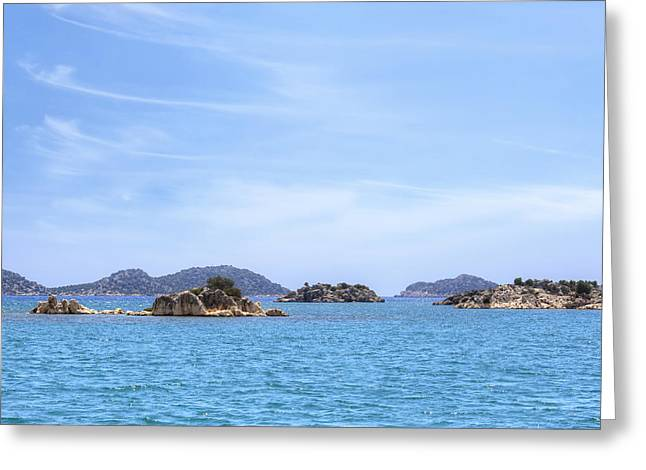Asien Greeting Cards - Kekova archipelago - Turkey Greeting Card by Joana Kruse