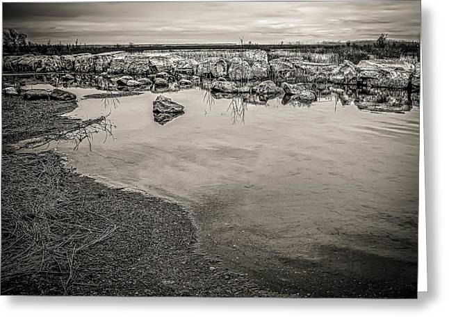 Best Ocean Photography Greeting Cards - Kettle Point Greeting Card by Jerry Golab