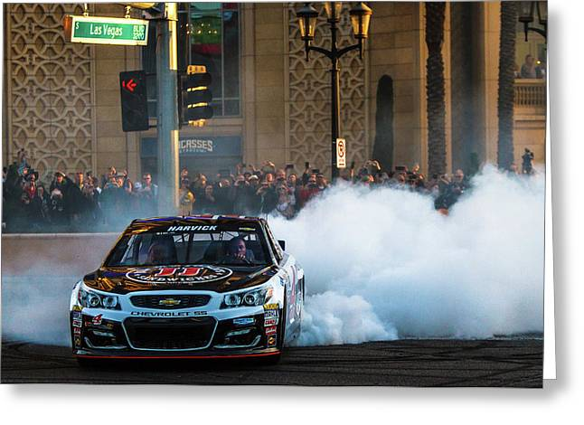 Kevin Harvick  Greeting Card by James Marvin Phelps