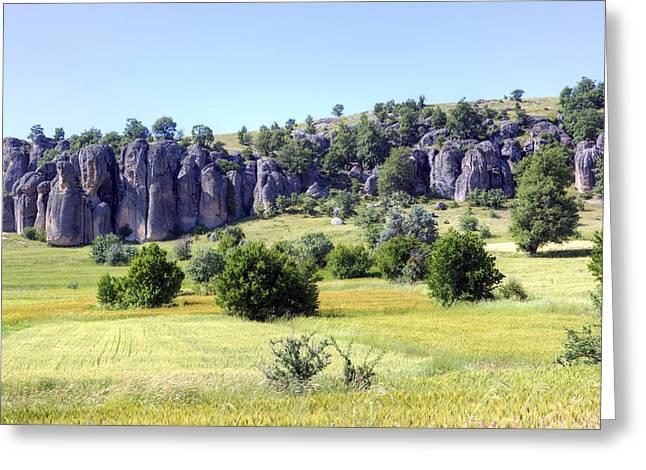 Testament Greeting Cards - Kilistra - Turkey Greeting Card by Joana Kruse