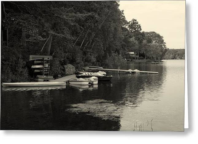 East Haddam Connecticut Greeting Cards - Lake Hayward Connecticut Greeting Card by Mountain Dreams
