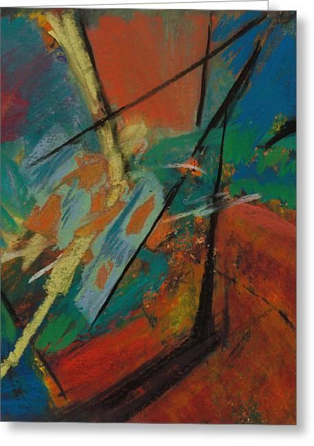Landing Sight Greeting Card by Ethel Vrana