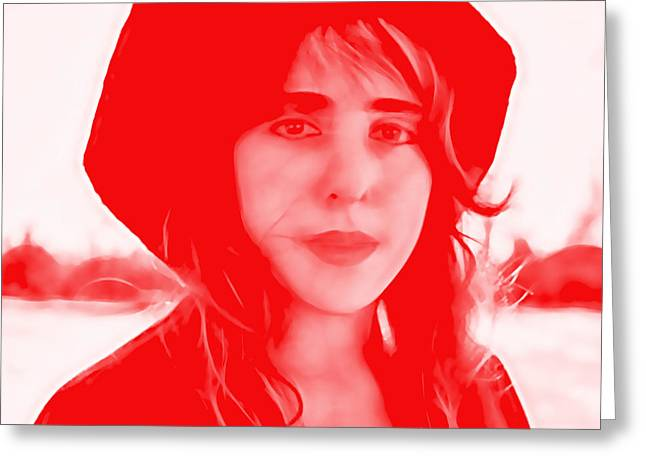 Pop Singer Greeting Cards - Laura Nyro Collection Greeting Card by Marvin Blaine