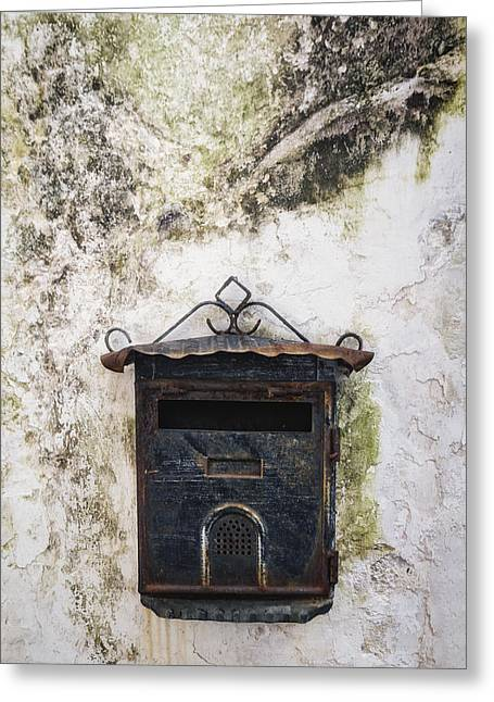 Pillar Box Greeting Cards - Letter Box Greeting Card by Joana Kruse