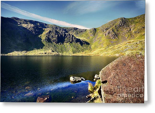 Levers Water Greeting Card by Nichola Denny