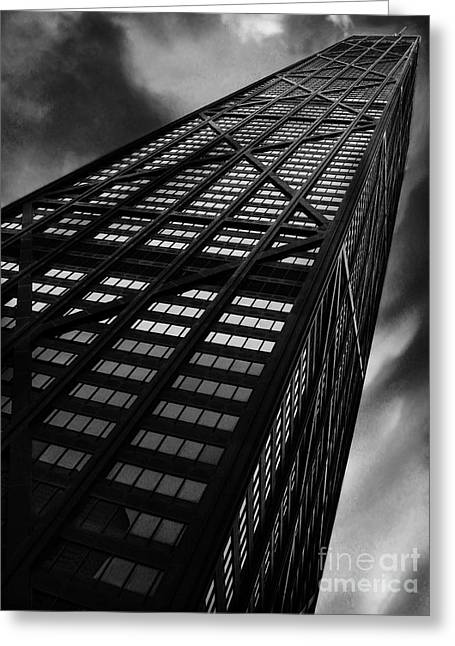 Chicago Building Greeting Cards - Limitless Greeting Card by Dana DiPasquale