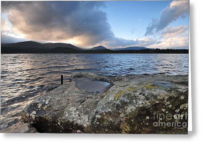 Loch Morlich Greeting Card by Stephen Smith