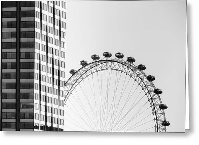 London Eye Greeting Card by Joana Kruse