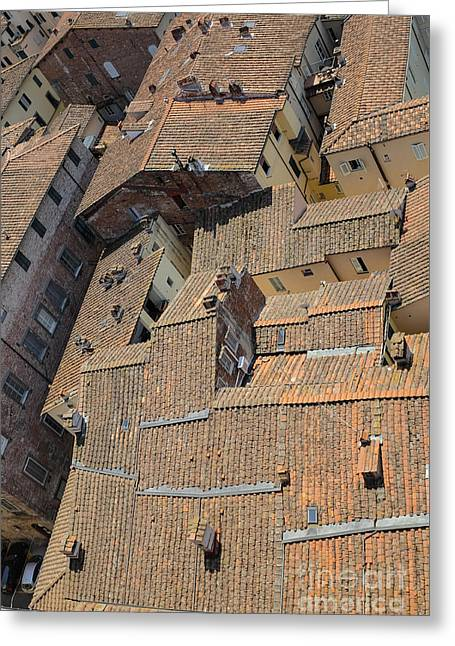 Lucca Greeting Cards - Lucca Italy Greeting Card by Edward Fielding