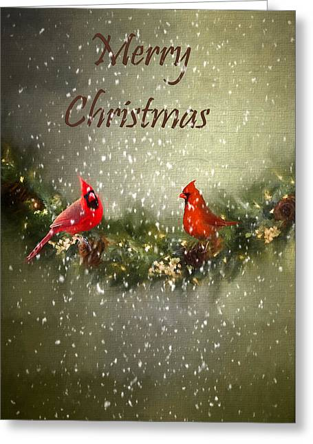 Merry Christmas Greeting Card by Darren Fisher