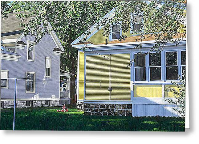 Photorealism Greeting Cards - Million Article Thompson Greeting Card by Michael Ward
