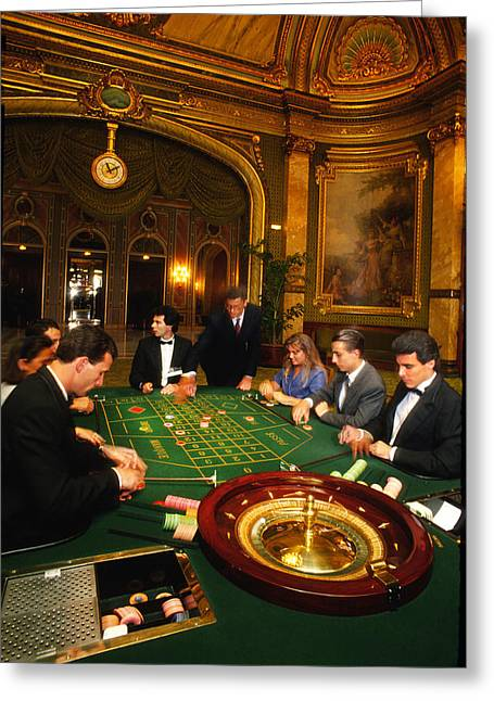 High Stakes Greeting Cards - Move Over James Bond Greeting Card by Carl Purcell