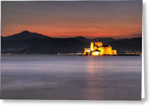 Nafplio - Greece Greeting Card by Constantinos Iliopoulos