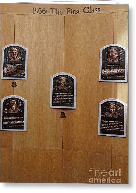 National Baseball Hall Of Fame And Museum Greeting Card by Jason O Watson