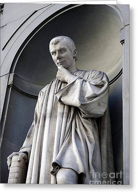 Ethics Greeting Cards - Niccolo Machiavelli Greeting Card by Sheila Terry