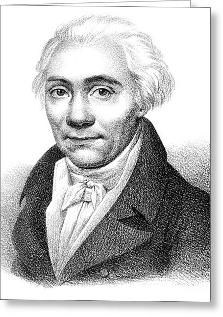 1797 Greeting Cards - Nicolas Louis Vauquelin, French Greeting Card by Science Source