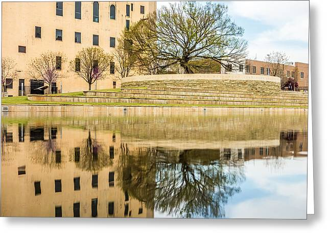 Terrorism Greeting Cards - Oklahoma City Bombing Memorial Greeting Card by Alexandr Grichenko