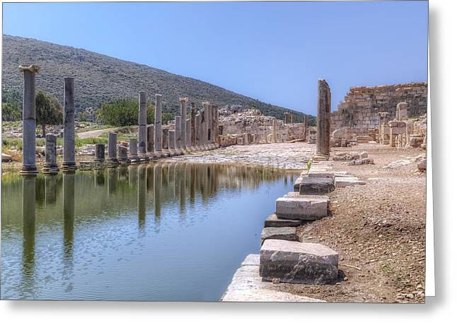 Nicholas Greeting Cards - Patara - Turkey Greeting Card by Joana Kruse