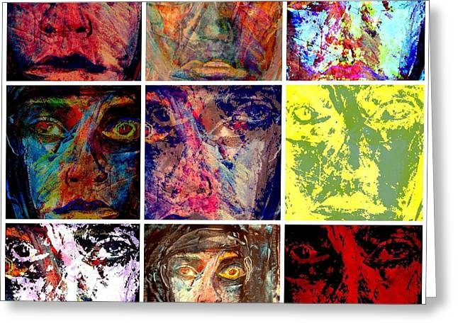 Sunset Abstract Greeting Cards - Personally I Could Give A Greeting Card by Richard Ray