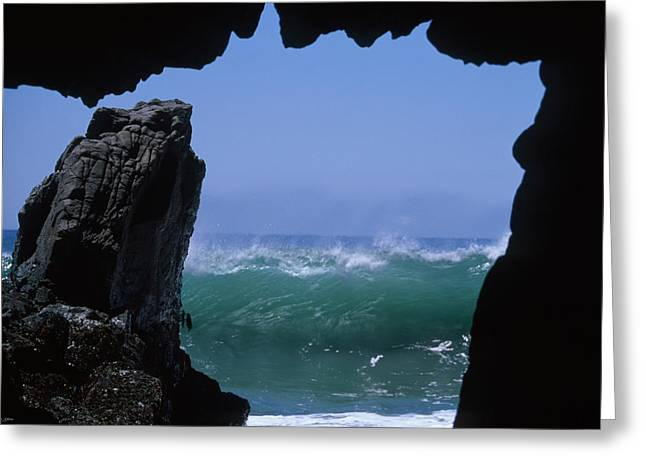 Pfeiffer Beach Greeting Card by Soli Deo Gloria Wilderness And Wildlife Photography