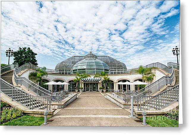 Phipps Conservatory Pittsburgh Pennsylvania Greeting Card by Amy Cicconi