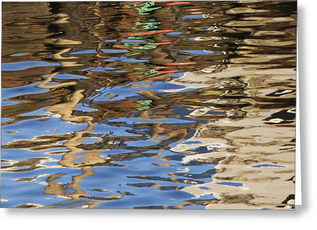 Reflections Greeting Card by Charles Harden