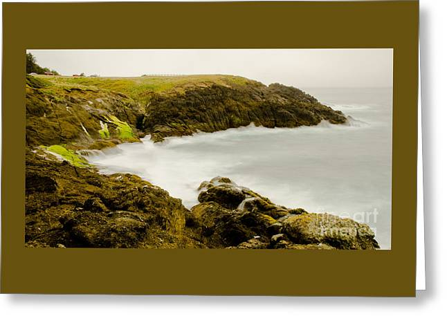 Ocean Images Greeting Cards - Rocky Point Seascape Greeting Card by Nick  Boren