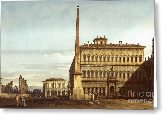 San Giovanni In Laterano Greeting Cards - Rome Greeting Card by MotionAge Designs